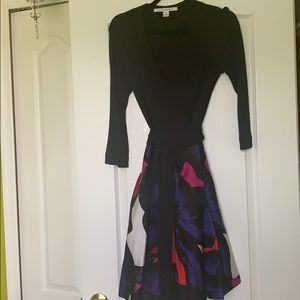 Diane von Furstenberg wrap dress -sz10